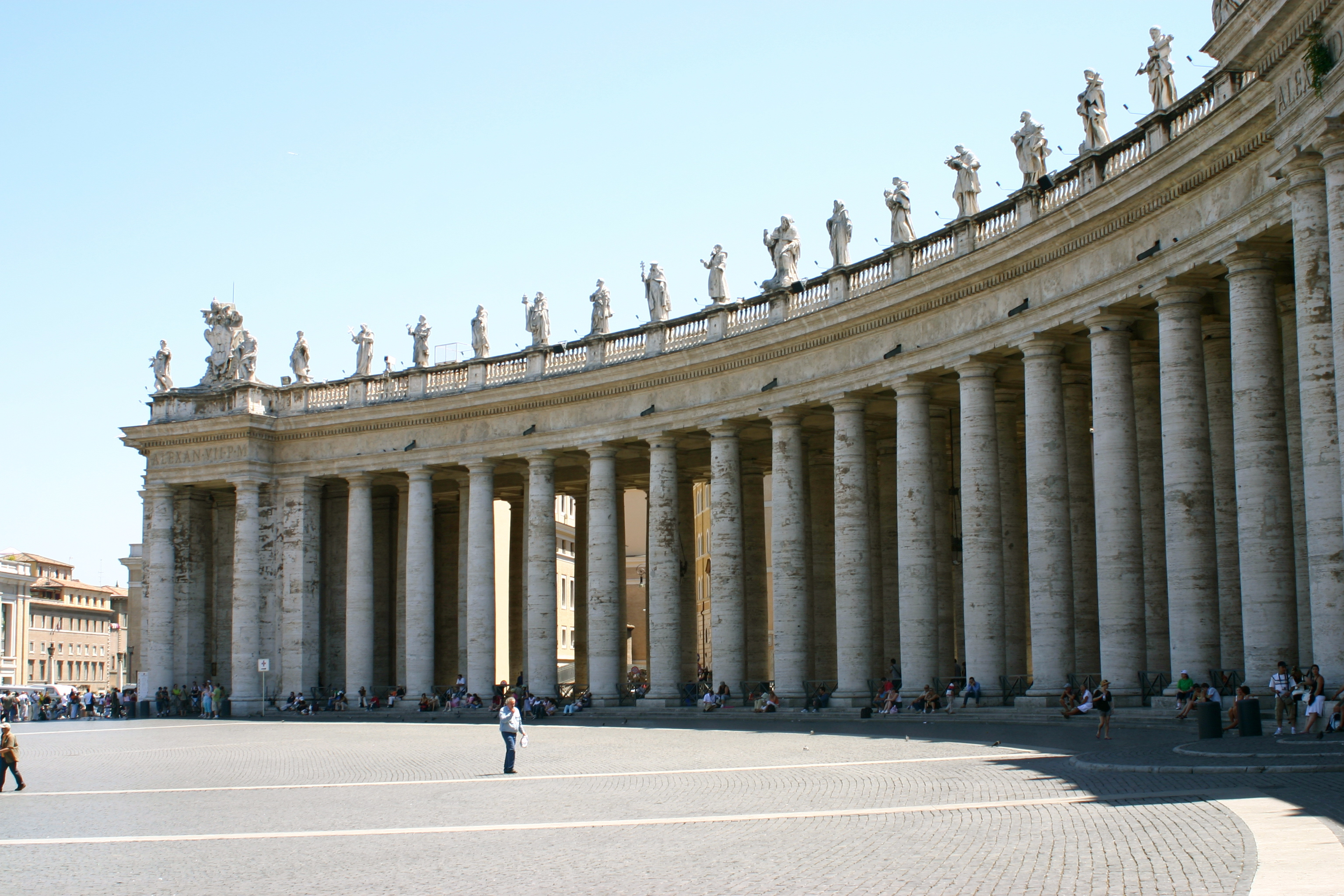 The Columns in the Vaitcan