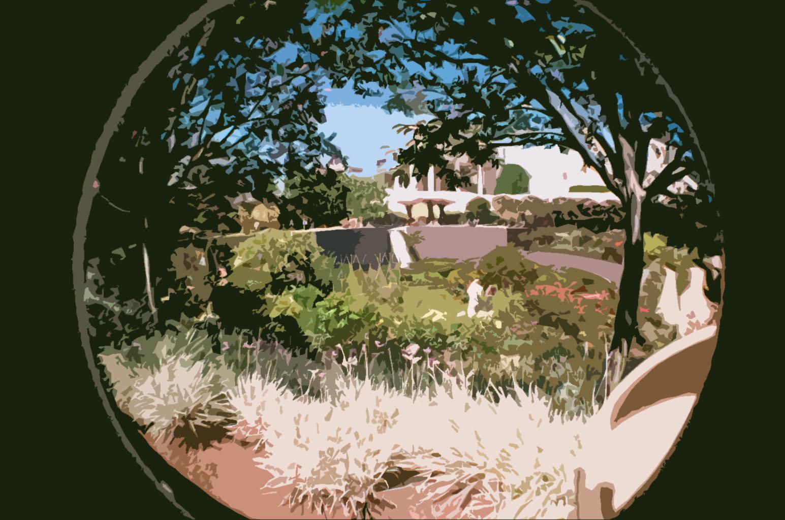 Getty Garden