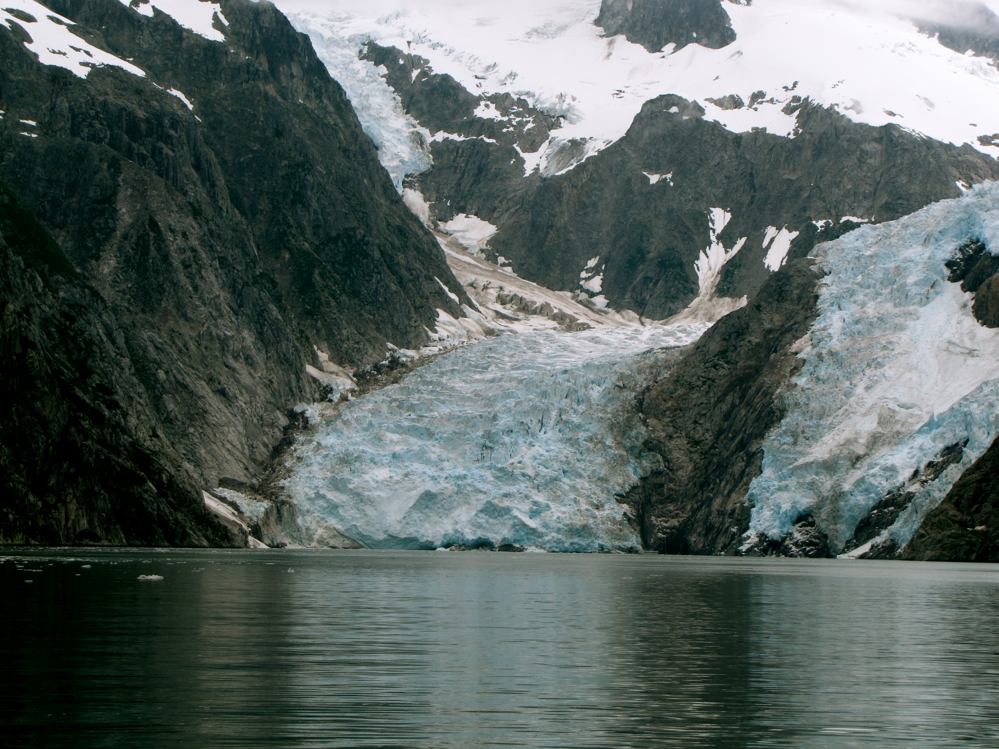 Northwestern Glacier from a distance- Kenai Fjords