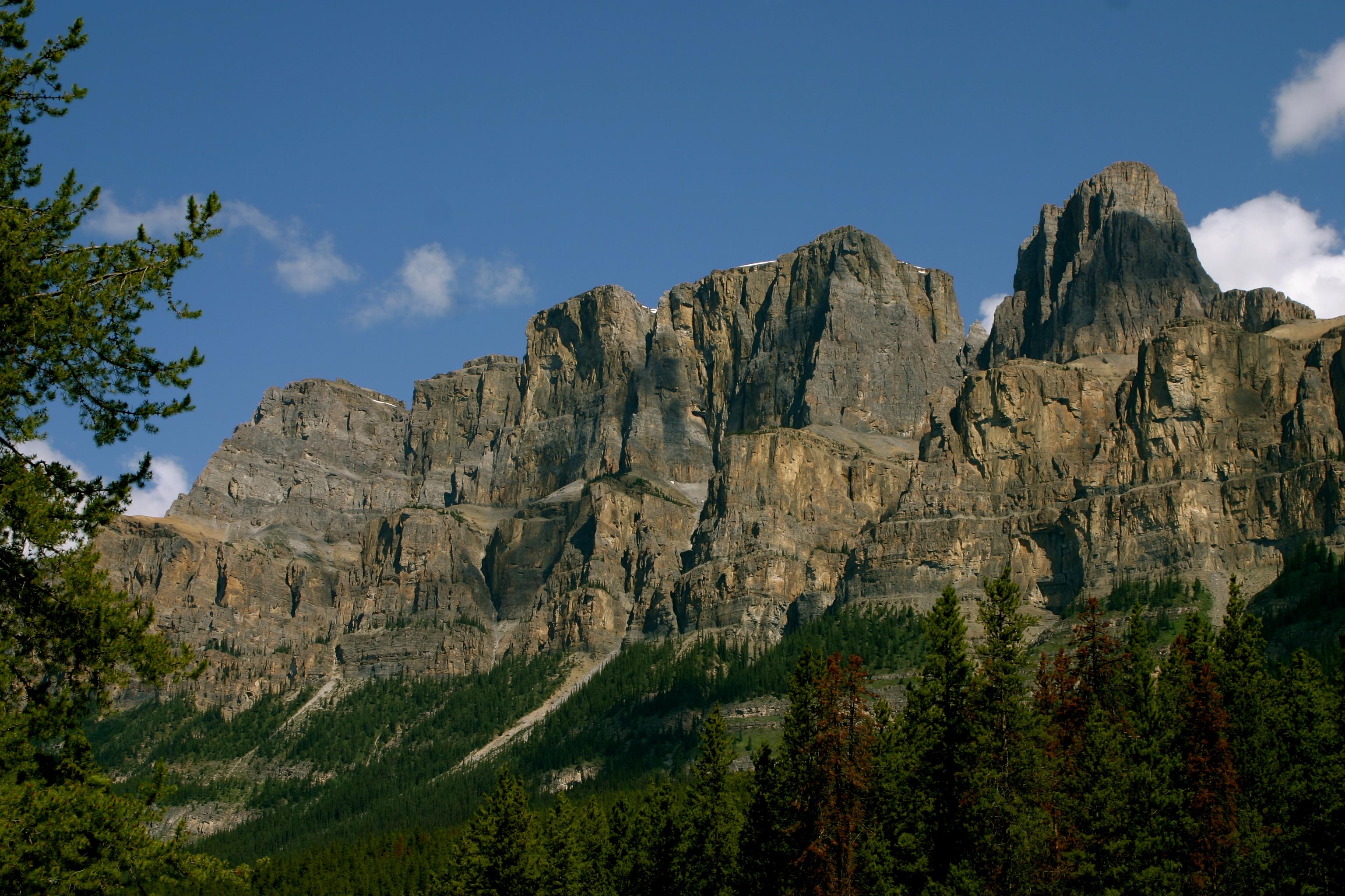 The Castle Cliffs