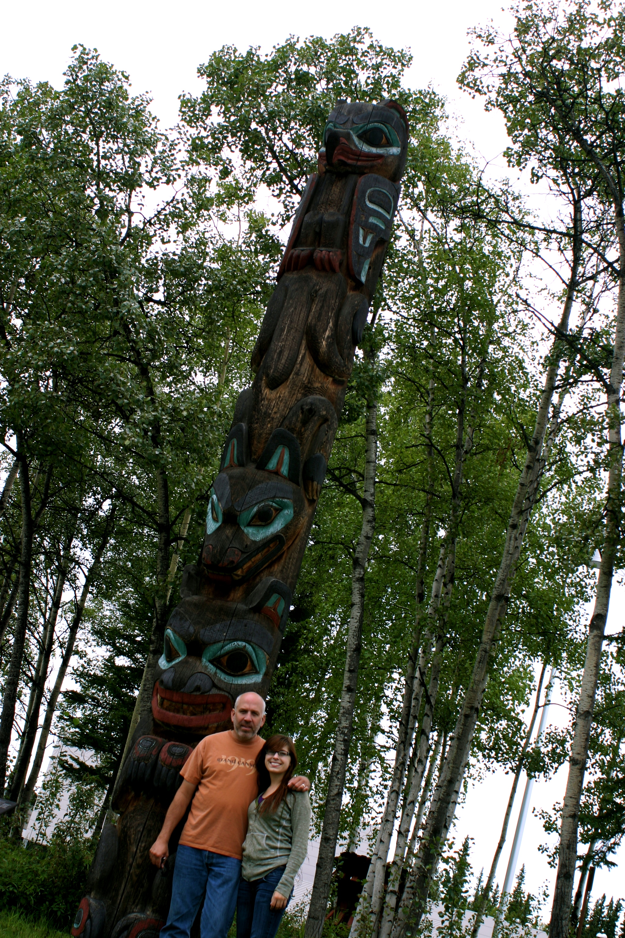 A REAL Totem Pole