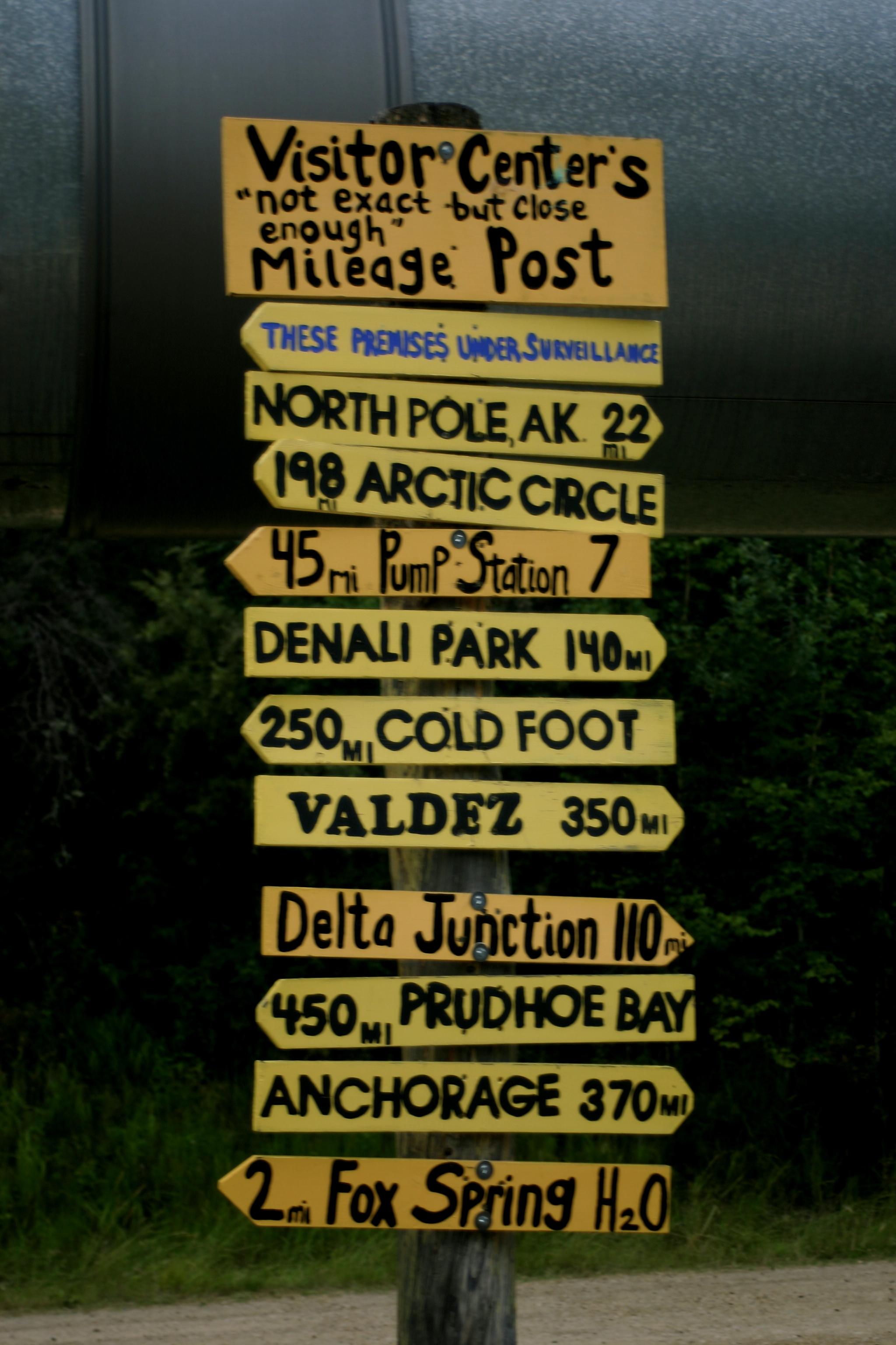 Mileage Post