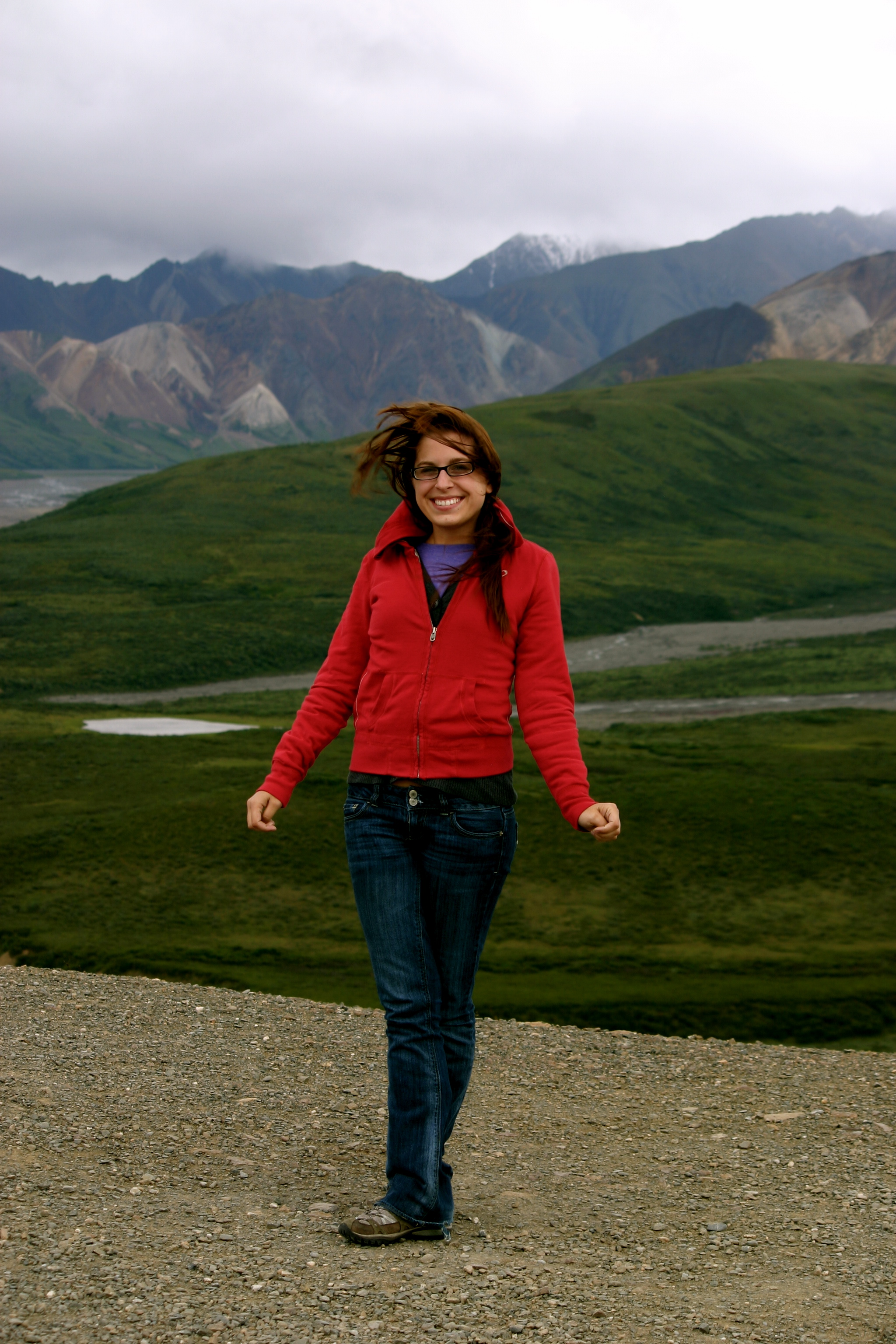 Me at Denali National Park