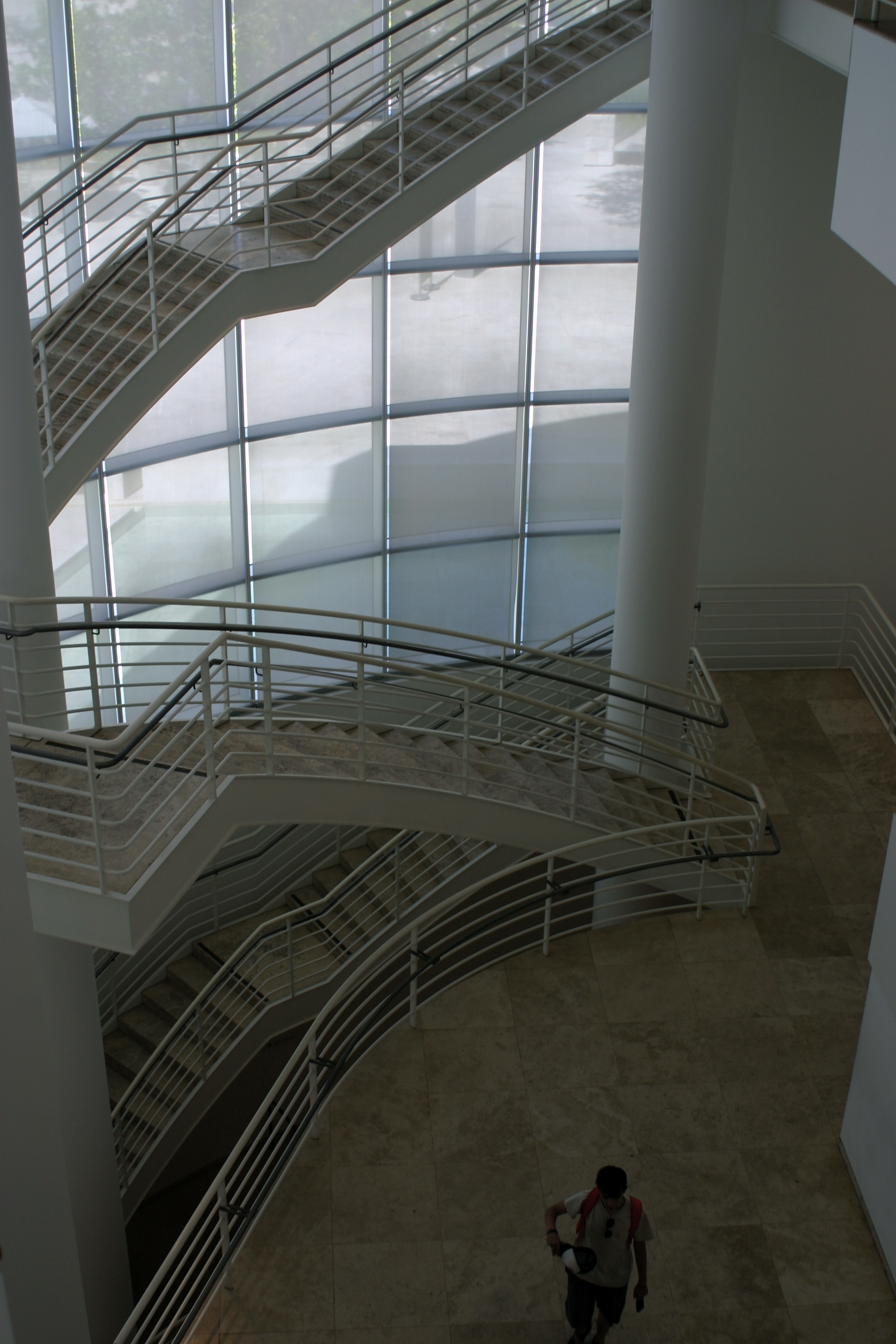 Inside the Getty