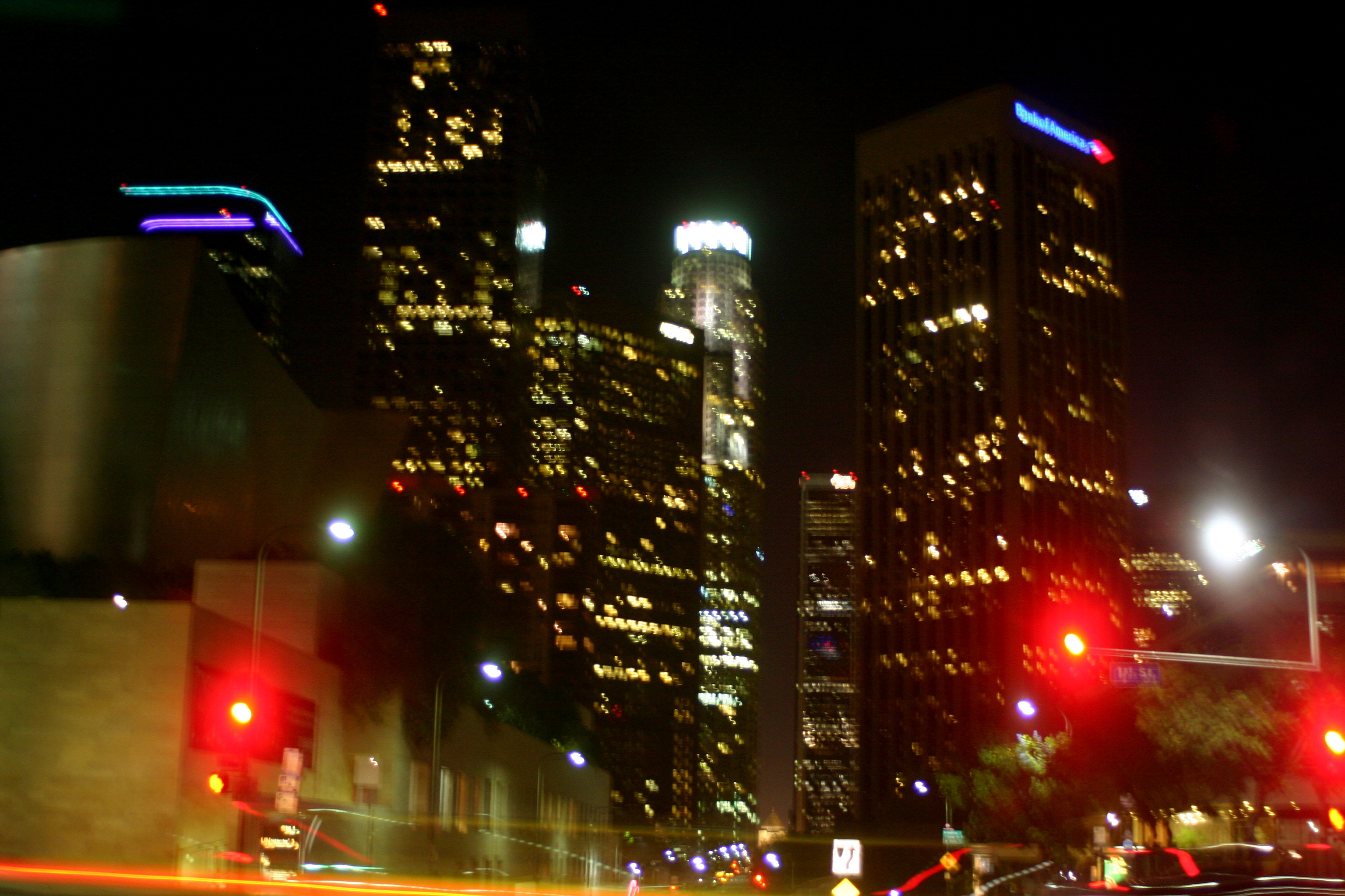 Downtown L.A. at Night
