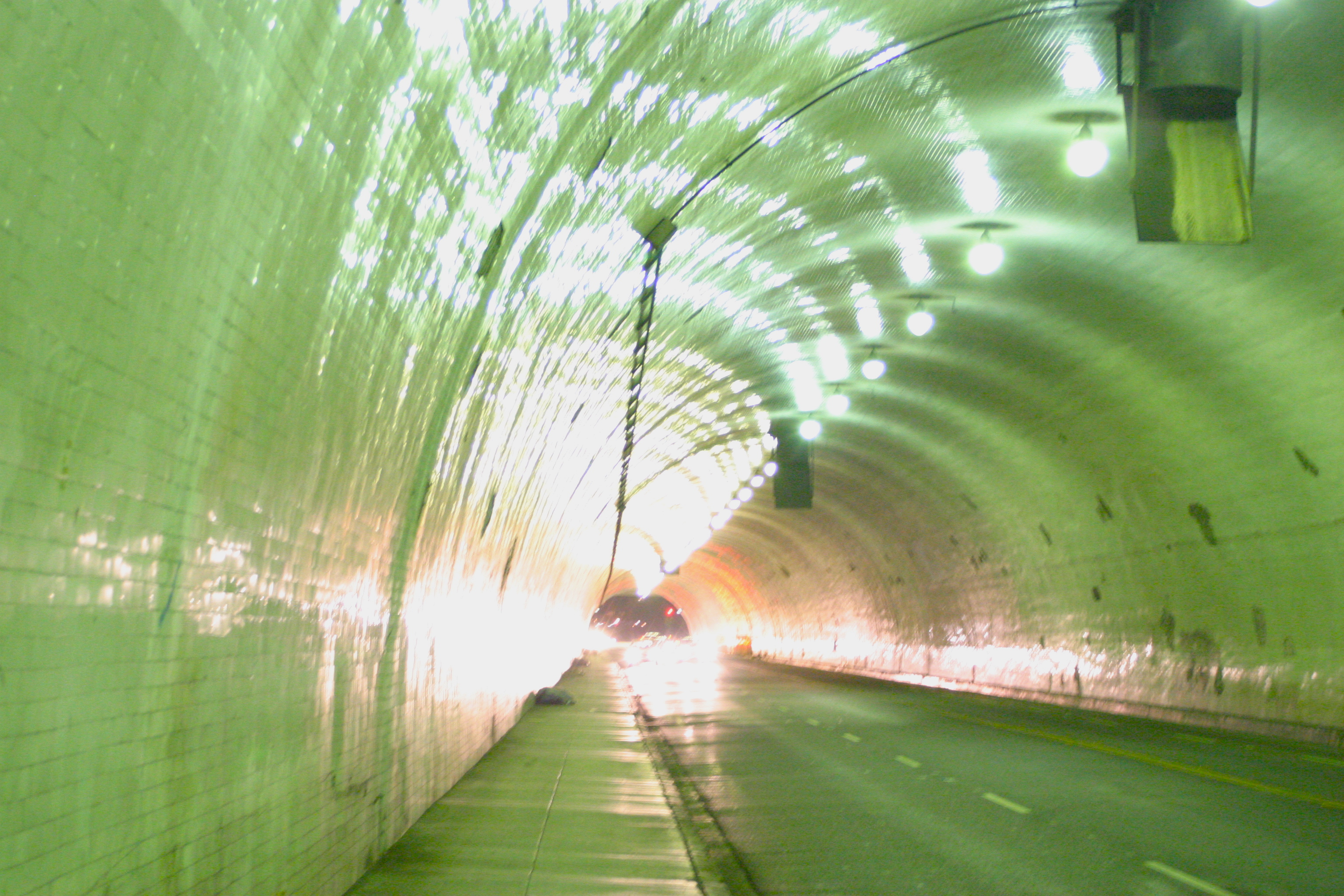 This Crazy Reflective Tunnel that is in pretty much every commercial with a tunnel and was shot in LA.