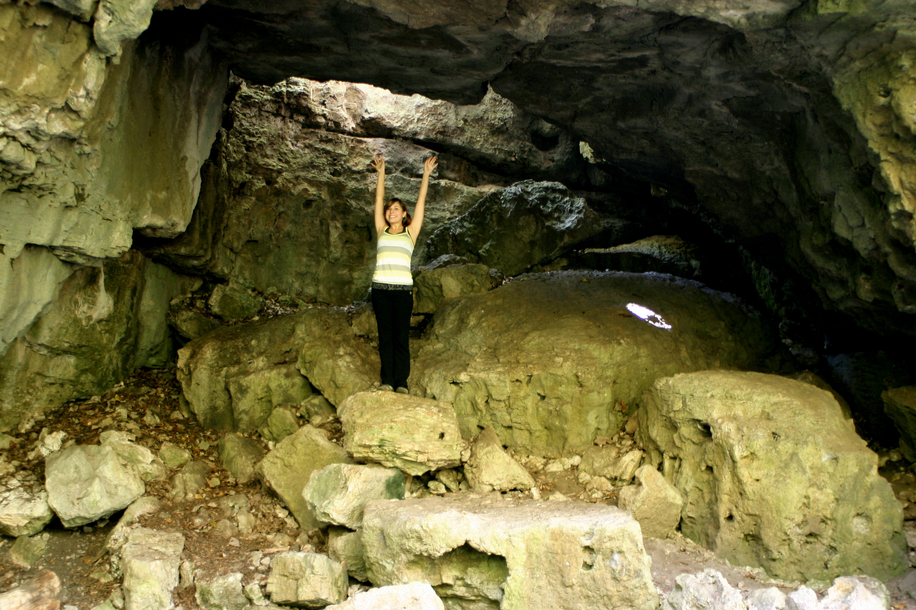 Me in Counterfeiter's Cave
