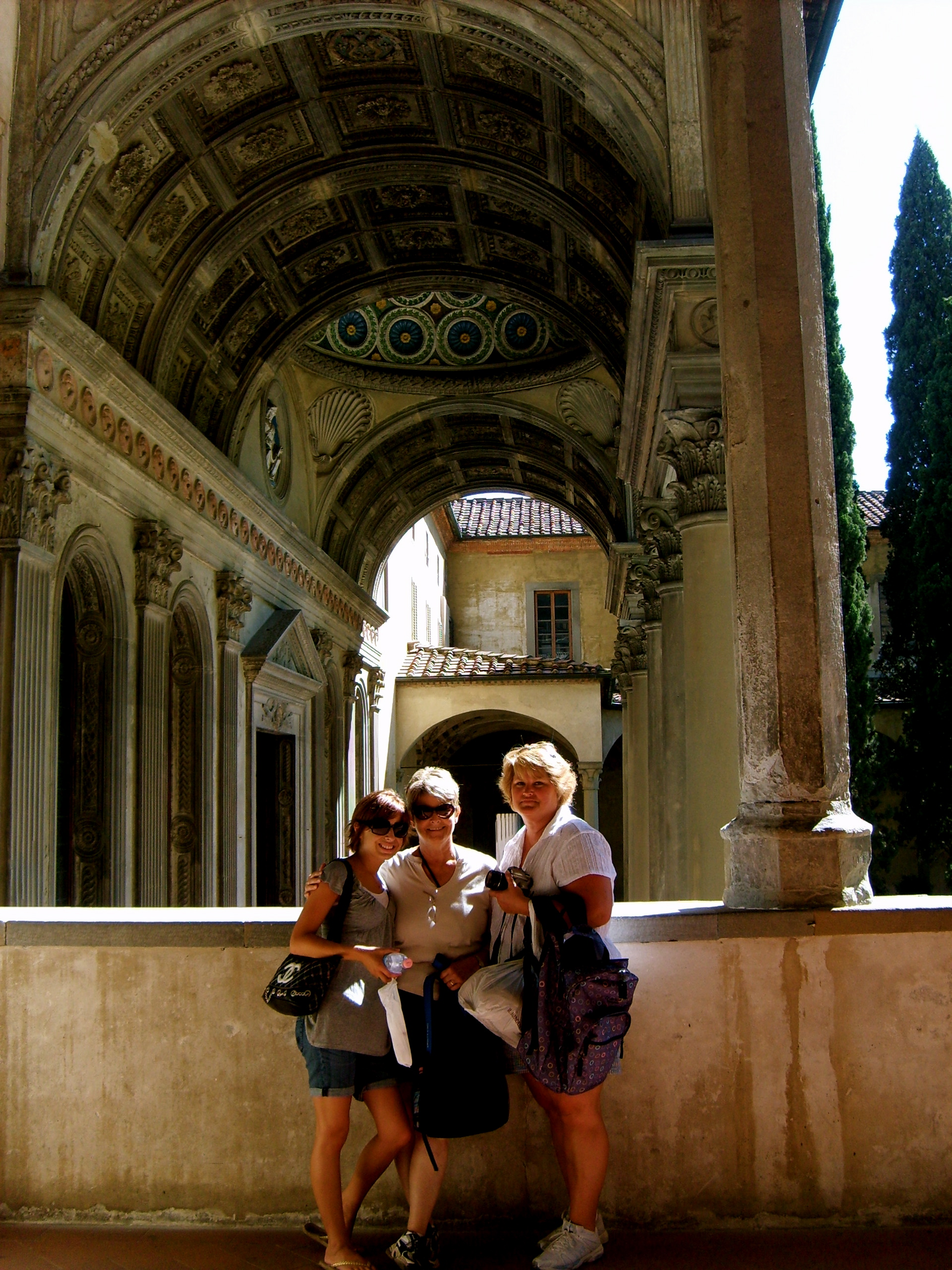 Courtyard of Santa Croce