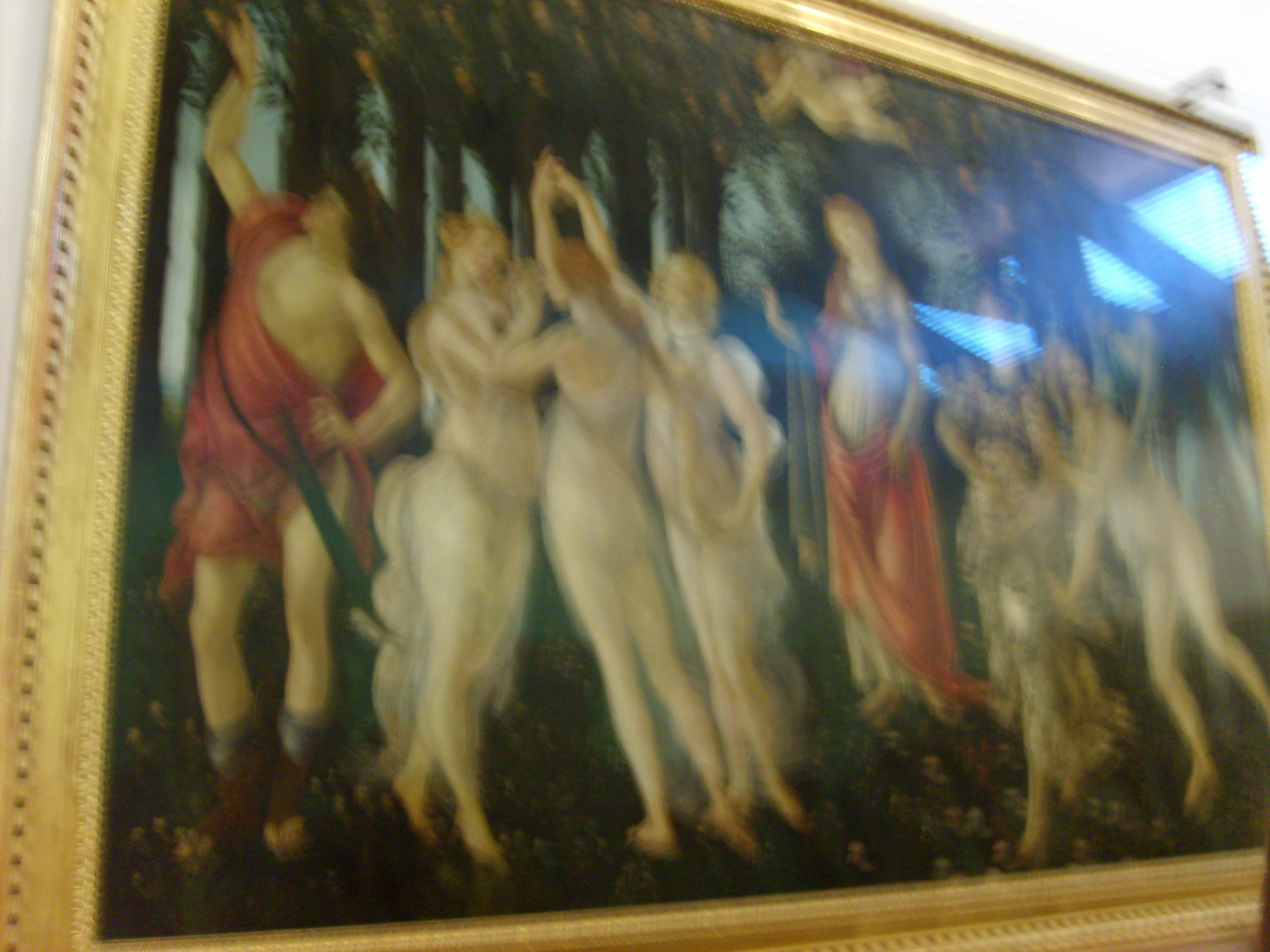 """Primavera"" in the Uffizi"