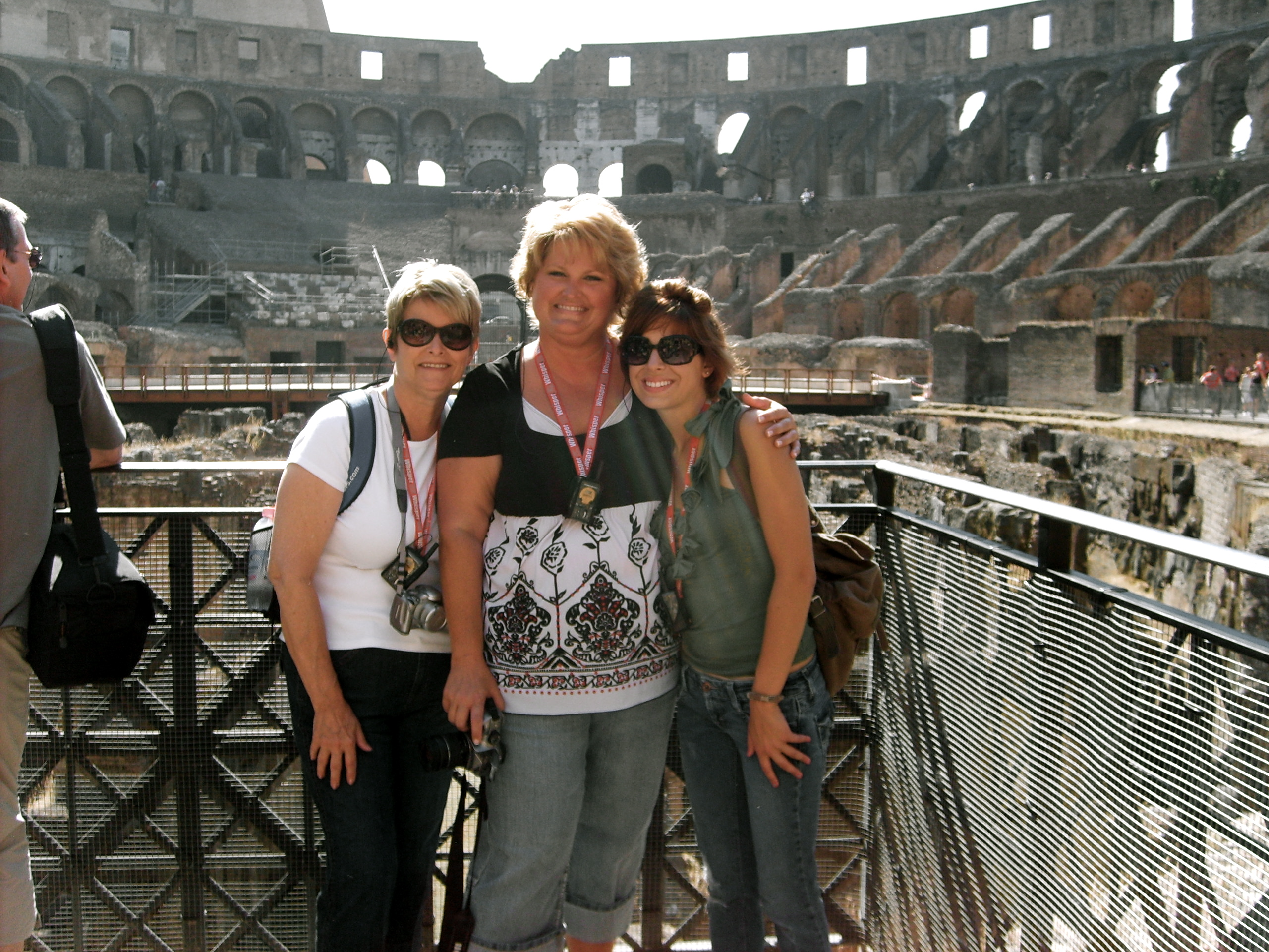 Us in the Colosseum
