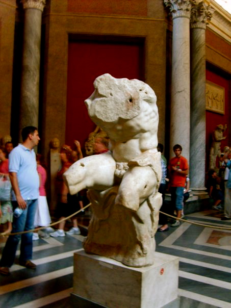 My favorite Sculpture in the Vatican Museum