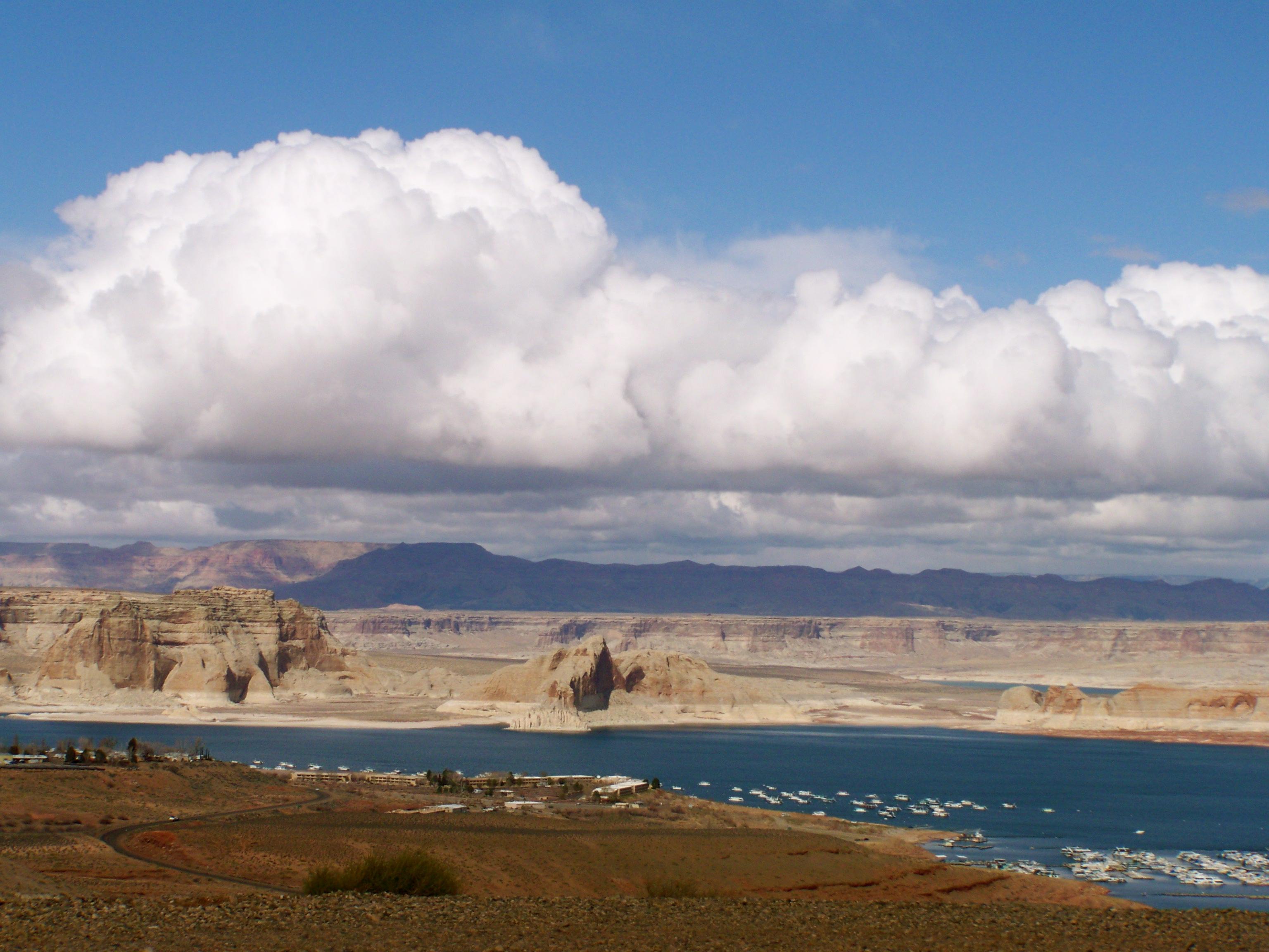 Lake Powell in Page, AZ