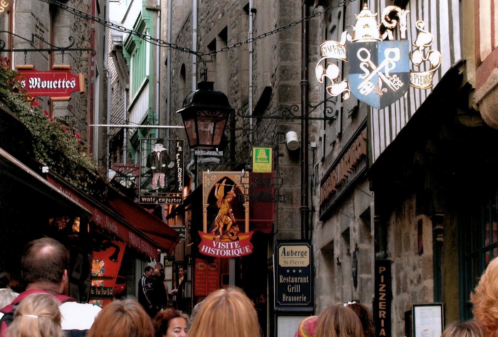 The Streets of Mont Saint-Michel