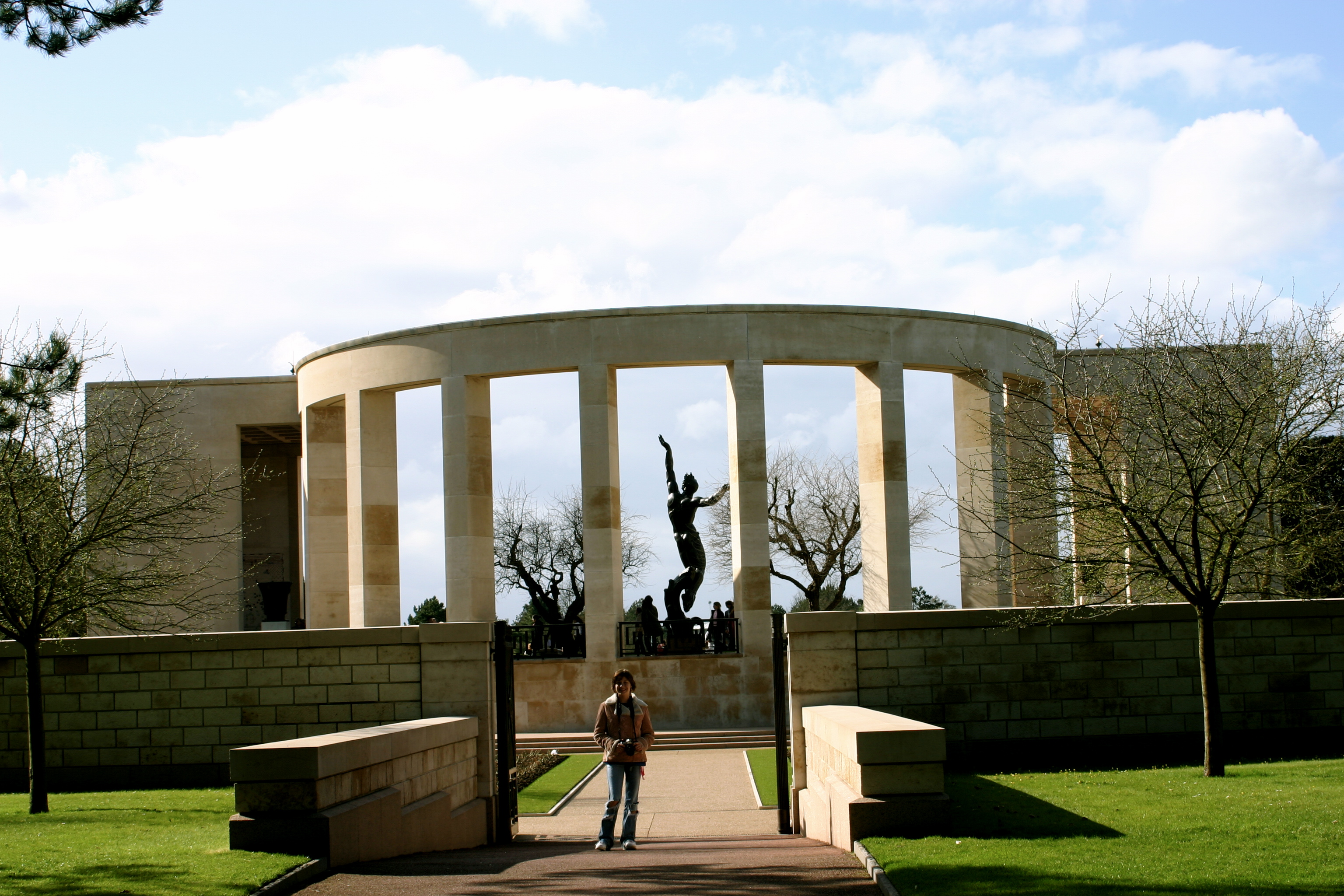 The Memorial and Wall of the Missing.