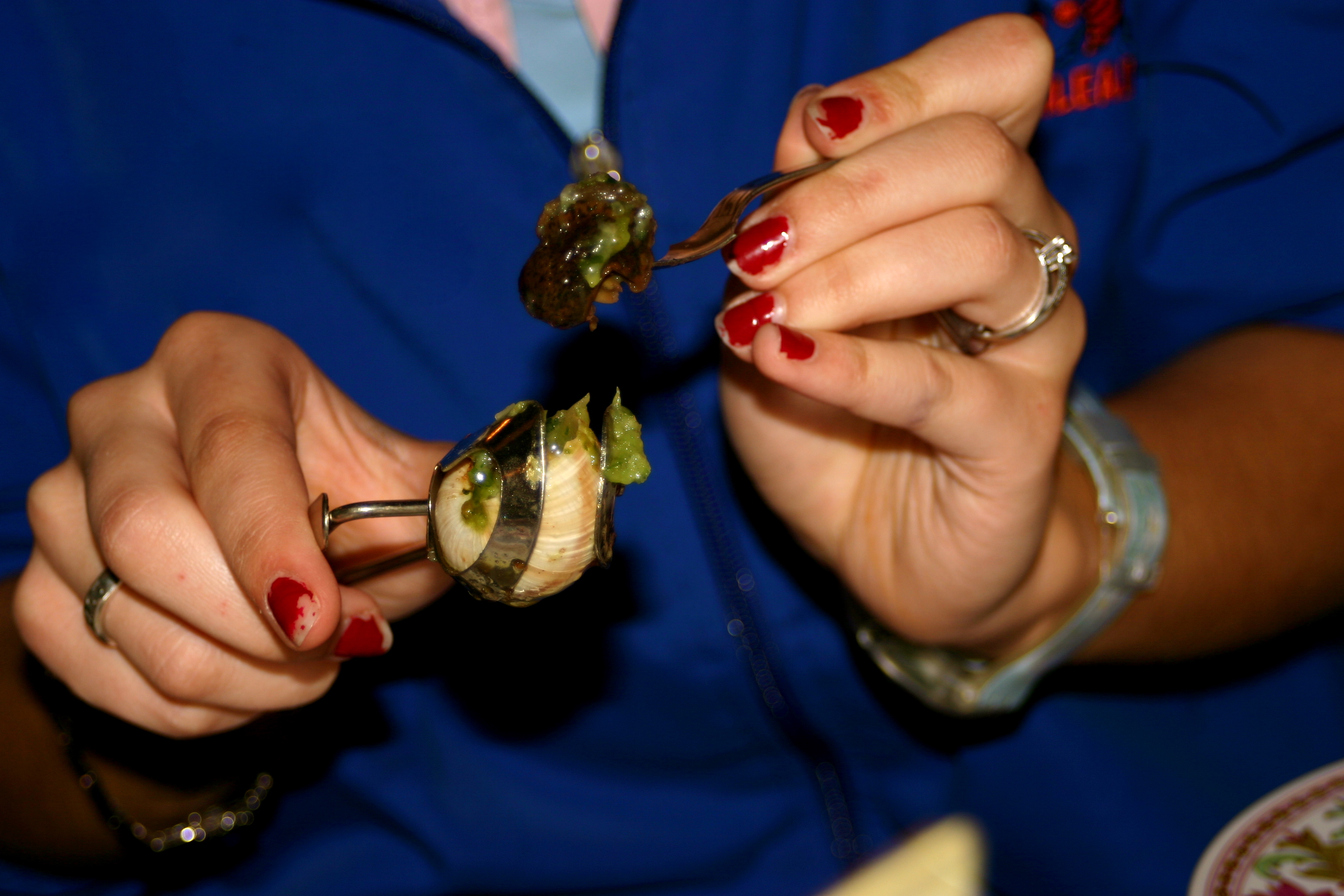 My First Experience with Escargots.