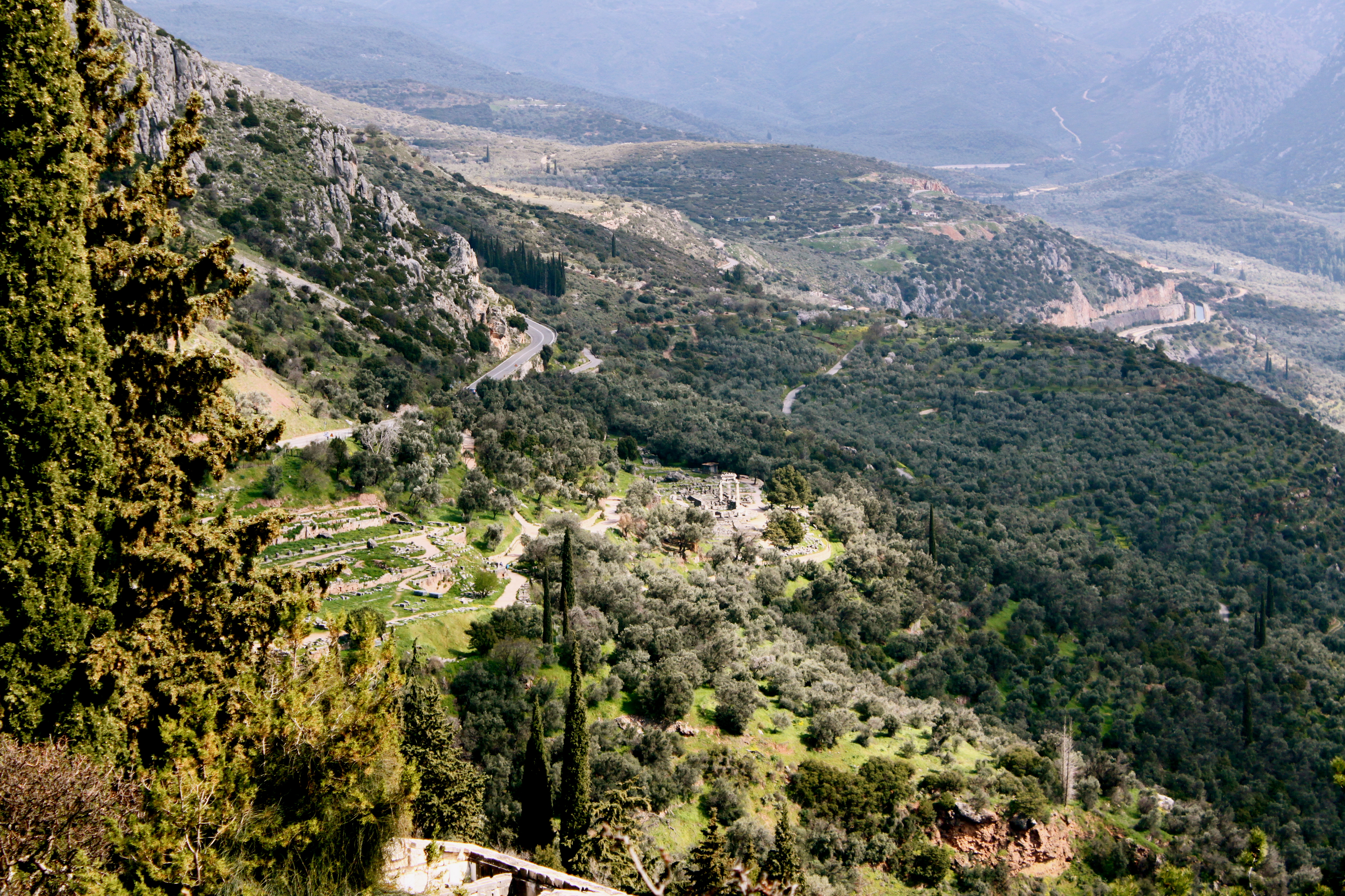Valley, Gymnasium and Sanctuary of Apollo