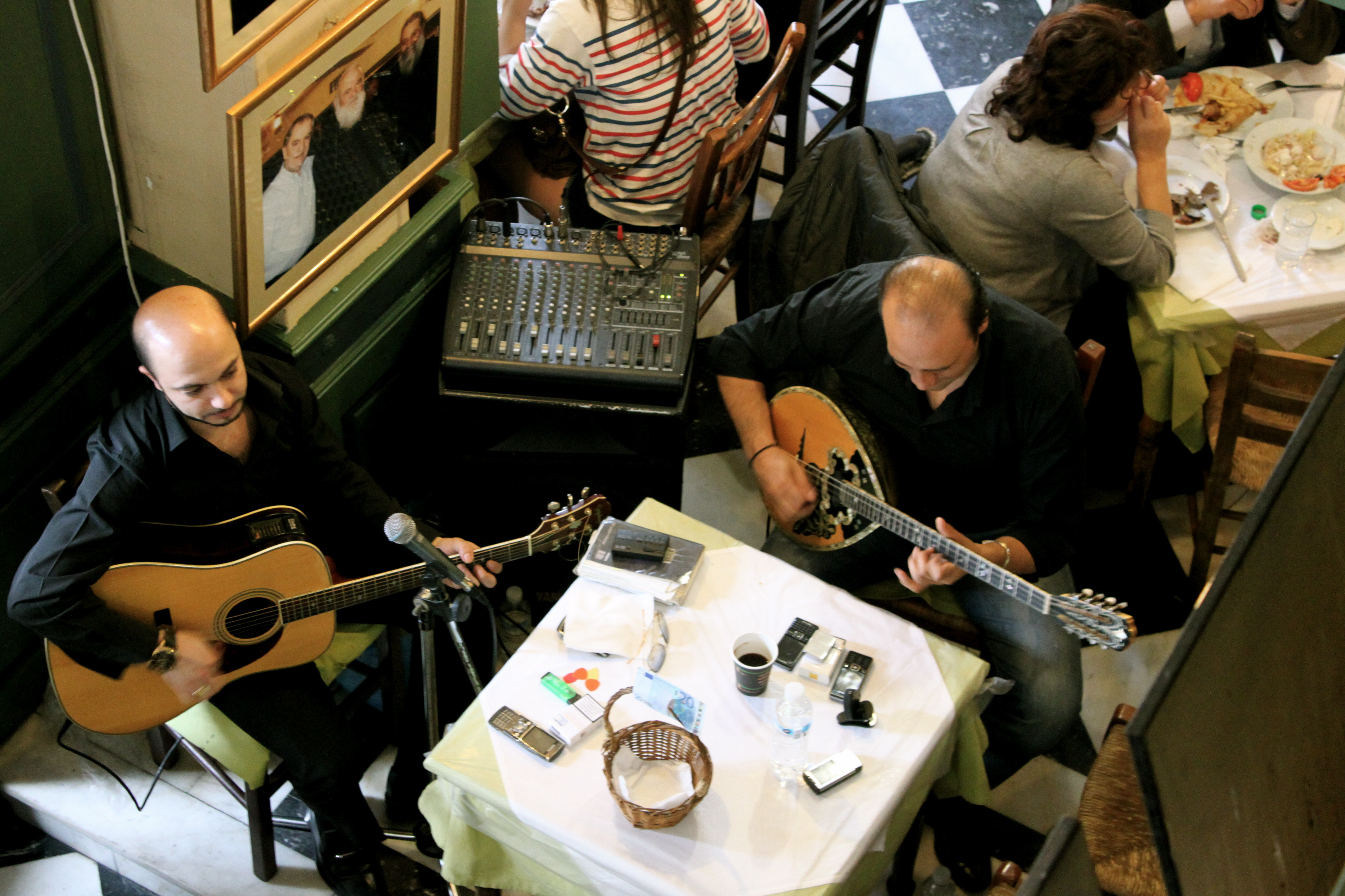 Band Playing in a Turkish Restaurant