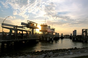 The Ferry and Dock