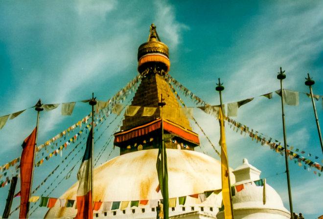 Lance - Nepal-Kathmandu-Boudhanath-Stupa