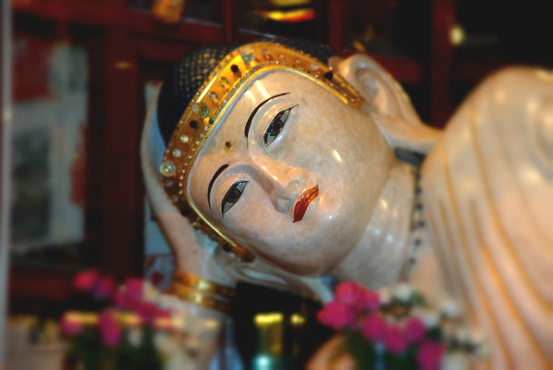 Maria - Jade Buddha Temple