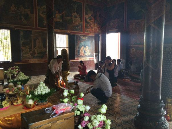 Paige - Wat Phnom