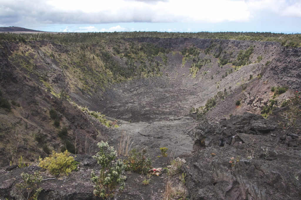 Chain of Craters Road - Pauahi Crater